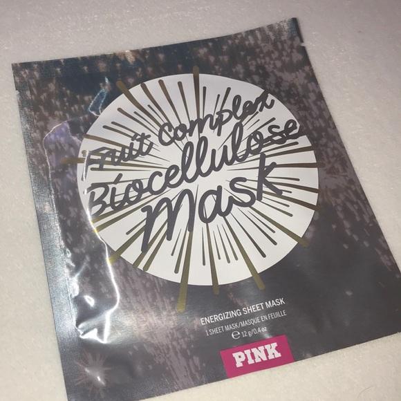 db978b65625c8 🍬 7/$15 PINK Fruit Complex Biocellulose Mask ✨ NWT